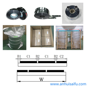 Multi-margin OPP Film with One Side Zn-Al Metallized