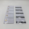 Inkjet SLE4428 Chip Card with Hico 3-track Magnetic Strip