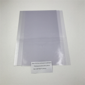 Silver PVC No-Laminated Card(Inkjet)